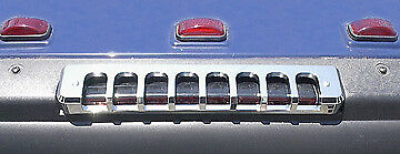 2003-2010 H2 Hummer SUV Chrome Rear 3rd Brake Light Cover