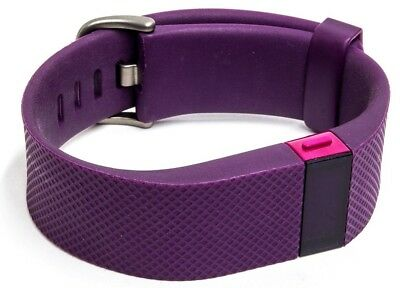 Fitbit Charge HR Wireless Activity Tracker Wristband msip-crm-xra-fb405 Plum