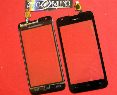 GLASS+TOUCH SCREEN FOR HUAWEI ASCEND Y550 SPARE PARTS SLIDE DISPLAY New  BLACK