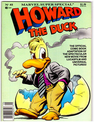 MARVEL SUPER SPECIAL HOWARD THE DUCK #41 in NM+ 1986 magazine comic BRAND NEW