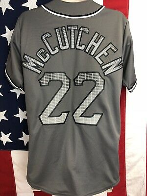 4da59dadc Authentic Majestic MLB Pittsburgh Pirates ANDREW MCCUTCHEN JERSEY S Sewn  Gray