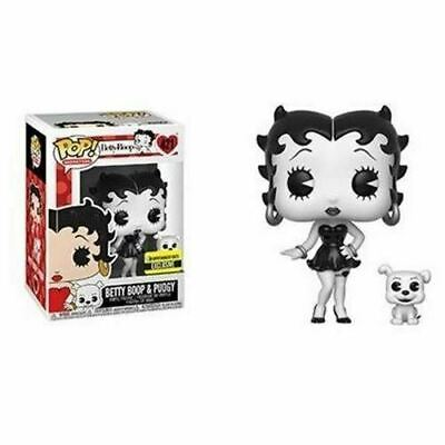 Funko Pop! 421 Animation - Betty Boop - Betty Boop  & Pudgy Black-and-White