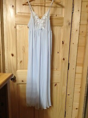 Shadow Line Blue Gown Med