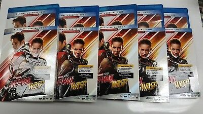 Ant-Man and the Wasp Blu-ray/Digital Code