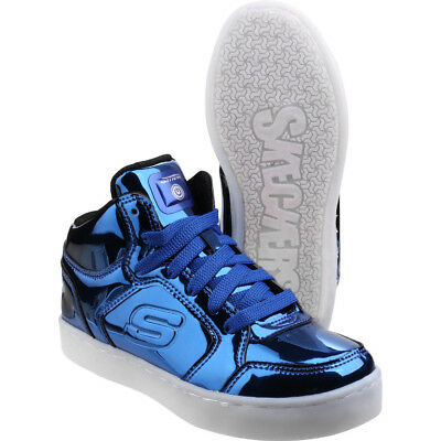 b55aa196cace SKECHERS BOYS   Girls Energy Lights Eliptic Light-up Trainers Shoes ...