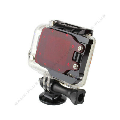 Red Underwater Under Sea Housing Diving Dive Lens Color Filter for GoPro Hero 3