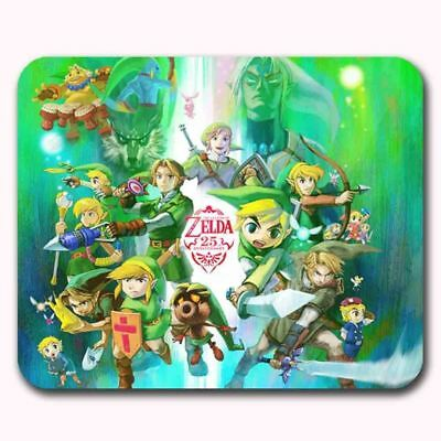 The Legend of Zelda 25th Anniversary Game Mouse Pad Mats Mousepad
