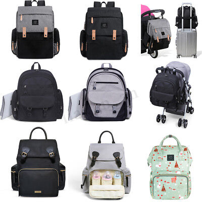 GENUINE LAND Mummy Rucksack Large Maternity Baby Nappy Diaper Bag Backpack Tote