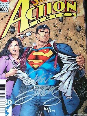 Action Comics 1000 Signed by Dan Jurgens Variant Dynamic Forces COA