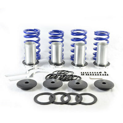 Coilovers springs lowering spring coil over fit Honda Accord 98-02 Black