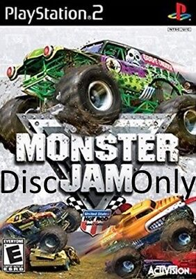 Monster Jam (Sony PlayStation 2, 2007) Disc Only