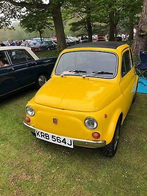 FIAT 500 right hand drive. 1970
