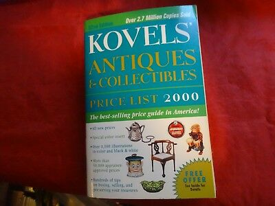 Kovels' Antiques and Collectibles Price List 2000 by Ralph M. Kovel and Terry PB