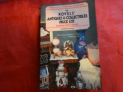 Kovels' Antiques and Collectibles Price List 1982 by Ralph M. Kovel and Terry PB