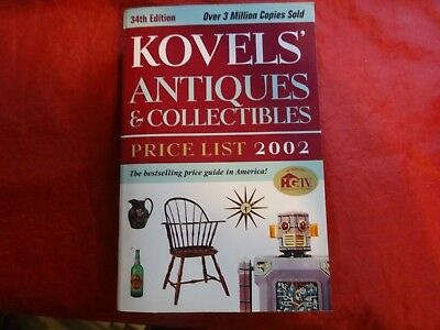 Kovels' Antiques and Collectibles Price List 2002 by Ralph M. Kovel and Terry PB