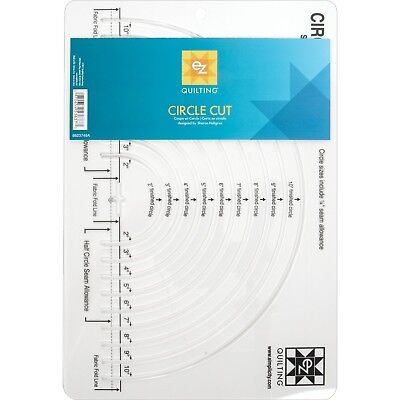 Simplicity EZ Quilting Easy Circle Cut Acrylic Template