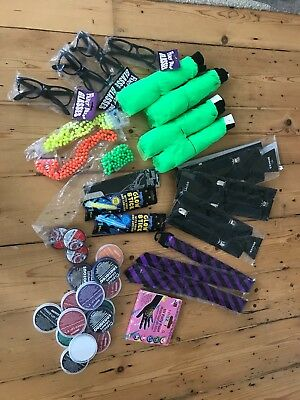 Joblot Fancy Dress Mixture Bundle for Students - face paint, tutus...