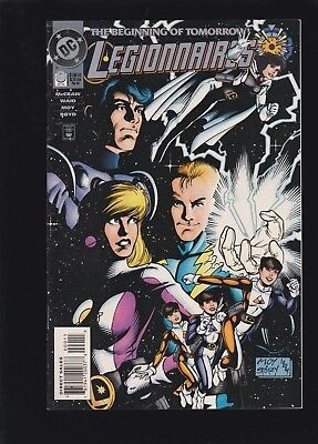 Legionnaires #0 1st XS Appearance! Flash's Granddaughter! Hot Issue! CW Show!