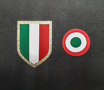 Juventus Badge Set 2018 / 2019 Patch Logo Toppa Turin Juve Tim Serie A