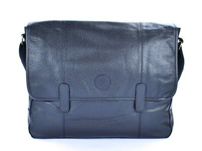 83c835052b Borsa Tracolla Messenger In Pelle Timberland M4436 Nero Sconto Outlet