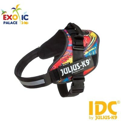 Julius-K9 Idc Powerharness Psycho Harness Colorful For Dog Nylon Resistant