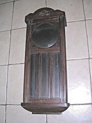 CLOCK  PARTS , OAK  WALL  CLOCK  CASE  v