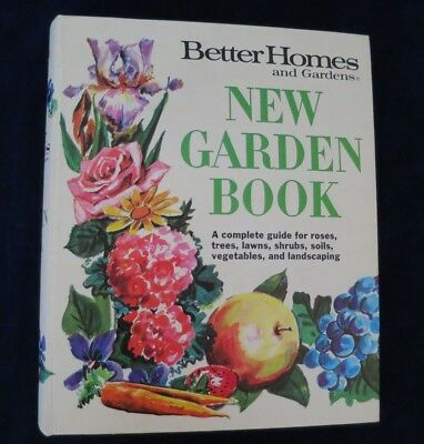 Vintage New Garden Book Better Homes and Gardens 4th printing