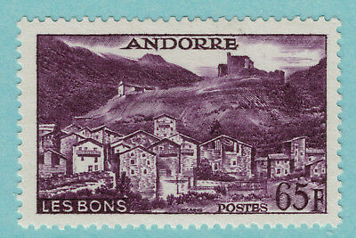 Andorra (French) Stamp Scott #140, Mint Lightly Hinged