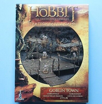 The Hobbit An Unexpected Journey Strategy Battle Game GOBLIN TOWN GAMES WORKSHOP