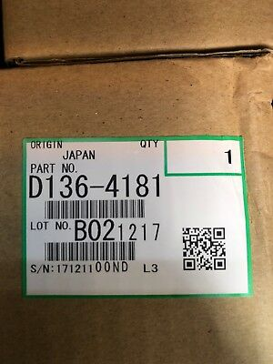 Genuine Ricoh Savin Lanier D1979640 D197-9640 Black Developer MP 2554 NIB OEM