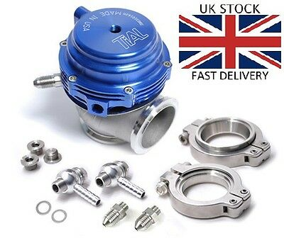 Tial MVS 38mm style BLUE v-band external wastegate F38 MV-S v band vband by TriX