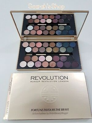 Makeup Revolution Eyeshadow Palette Fortune Favours The Brave 24 Hour Delivery