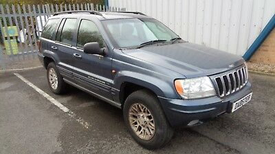 Jeep Grand Cherokee 2.7 Crd Diesel Limited Edition 2003 Later Shape Model