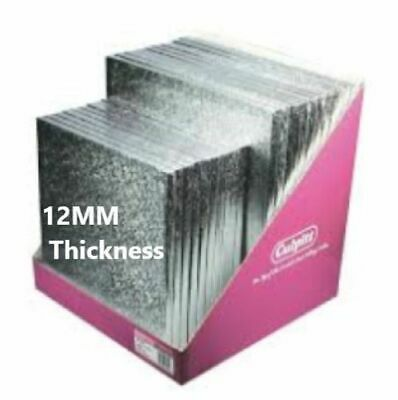 """Cake Boards Double Thick 3MM & Drums 12MM V Strong 8"""",10"""",12"""",14"""" and 16 Inch"""