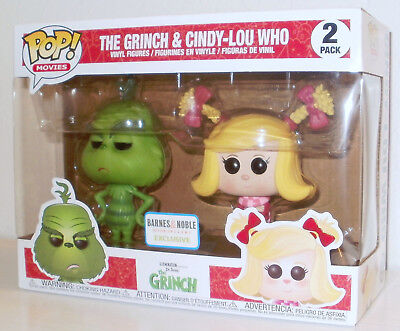 New 2018 Funko Pop Dr Seuss The Grinch Cindy-Lou Who Barnes & Noble Exclusive