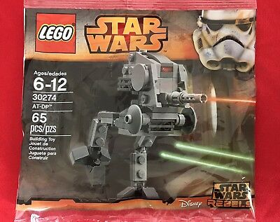 LEGO STAR WARS Mini AT-DP 30274 City 30312 TMNT Shredder