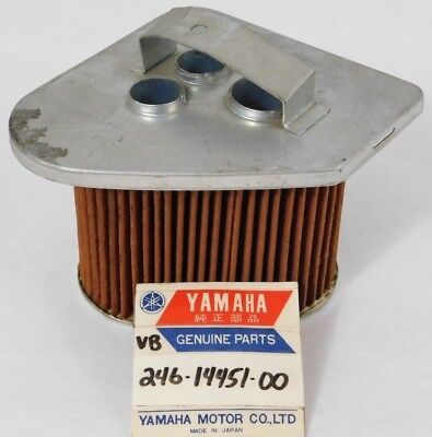 NOS Genuine Yamaha Left Hand Side Air Filter Cleaner Element OEM 246-14451-00-00
