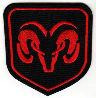 DODGE RAM PATCH EMBROIDERED IRON ON express 1500 rumble bee srt 10 hemi mopar