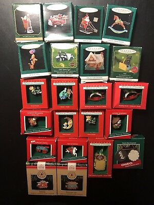 hallmark keepsake miniature ornaments