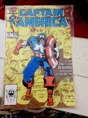1984 Marvels 25th Anniversary Collection: Captain America Issue 319