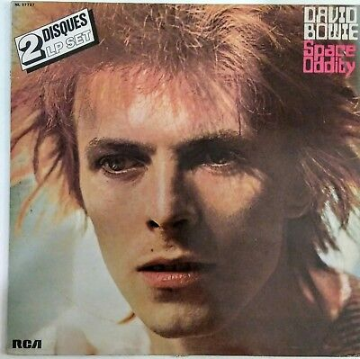 David Bowie Space Oddity / The Man Who Sold The World Rare 2 Disques France