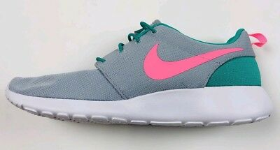 2fce3ed36914d Nike Roshe One Run South Beach Sea Green Watermelon Pink 511881-036 Sz 10.5