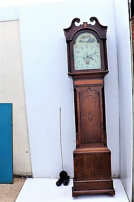 Georgian 8 day Grandfather Clock