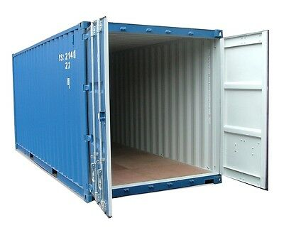 20ft NEW build   Shipping container Blue or green .Cannock and Manchester