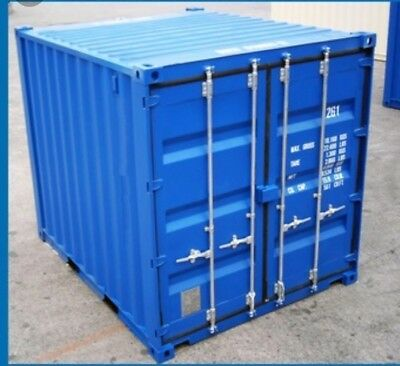 10ft NEW build   Shipping container Blue or green . Felixstowe / Southampton