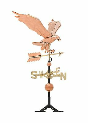 Whitehall Products Copper Eagle Weathervane, Polished