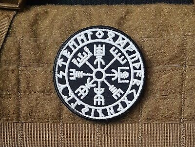 Glow in the Dark Morale Patch - Viking Protection Rune