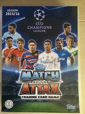 Topps Champions League 2015-16 Match Attax Complete set of cards (#1 to 500)