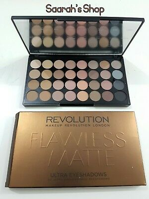 Makeup Revolution Eyeshadow Palette Flawless Matte New Sealed 24 Hour Delivery