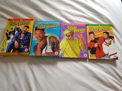 The Fresh Prince Of Bel-Air series 1 to 4